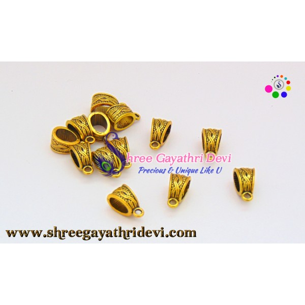 ANTIQUE CHARMS - GOLD - SGCH03 - 15MM