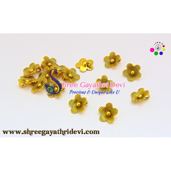 ANTIQUE CHARMS - GOLD - SGCH06 - 13MM