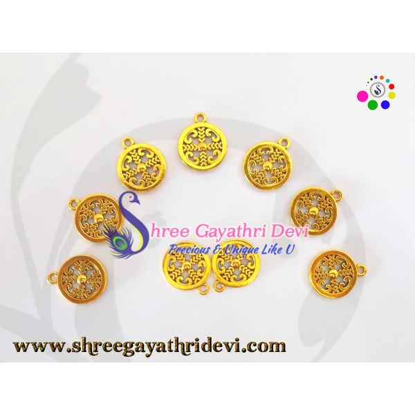 ANTIQUE CHARMS - GOLD - SGCH21 - 20MM