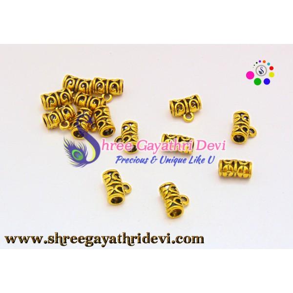 ANTIQUE CONNECTORS - GOLD - SGCO05 - 12MM